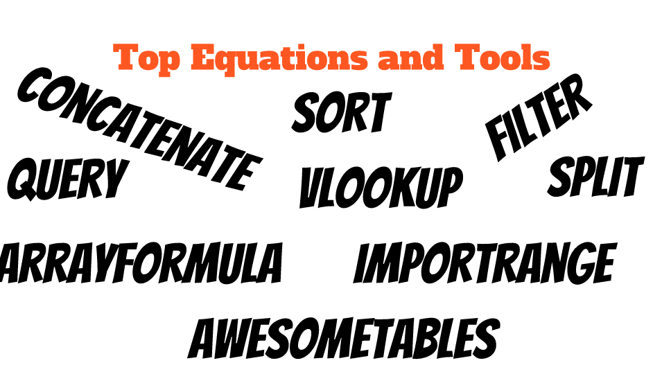 Doing More With Your Google Sheets – Basic Equations | Donovanscience